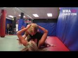 Gogoplata - UFC- Girl Fight - MMA Candy