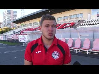 Послематчевое интервью Александра Панцырева
