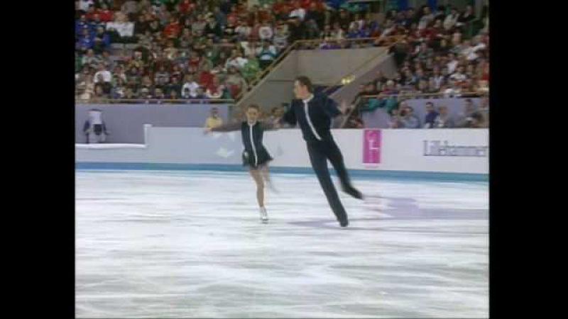 Гордеева и Гриньков Лунная соната, Олимпиада-1994