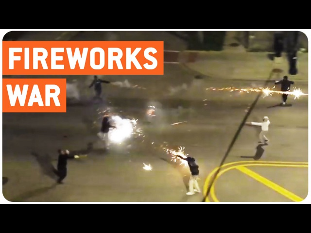 Roman Candle War | Battle of Chicago