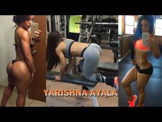 YARISHNA AYALA | IFBB Bikini Pro Athlete Fitness Model Workout Motivation!