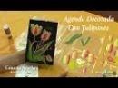 Pintura multicarga pintar tulipanes tulips painting