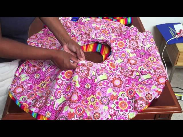 How to make a Circle Skirt for girls