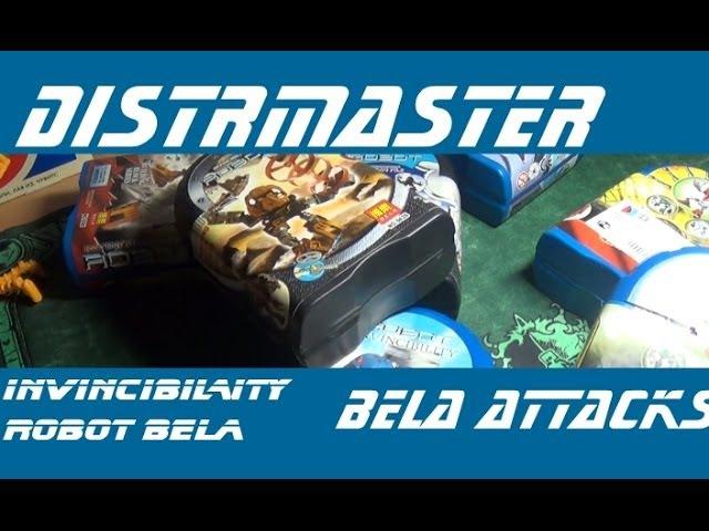 Конструктор Бела (INVINCIBILITY ROBOT BELA) - Нашествие белавских роботов (Bela Attacks)