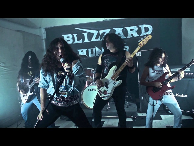 Blizzard Hunter - Heavy Metal to the Vein (Official Video)