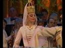 Черкесский дворянский танец (Circassian Noble dancing) -Ансамбль Кабардинка ('Kabardinka' ensemble)