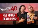 Five Finger Death Punch смотрят русские клипы Видеосалон №40