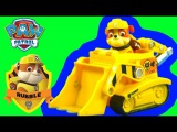 Щенячий патруль игрушка Крепыша с машинкой спасателя Бульдозер Paw Patrol Rubble's Diggin' Bulldozer