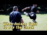 When Asians Fight To Pay For Food