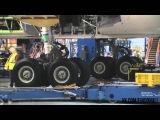 Боинг 787-9 Dreamliner собрали за 4 минуты в ускоренном видео