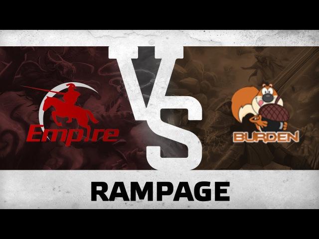 RAMPAGE! by Resolut1on vs Burden United @ D2CL V LAN