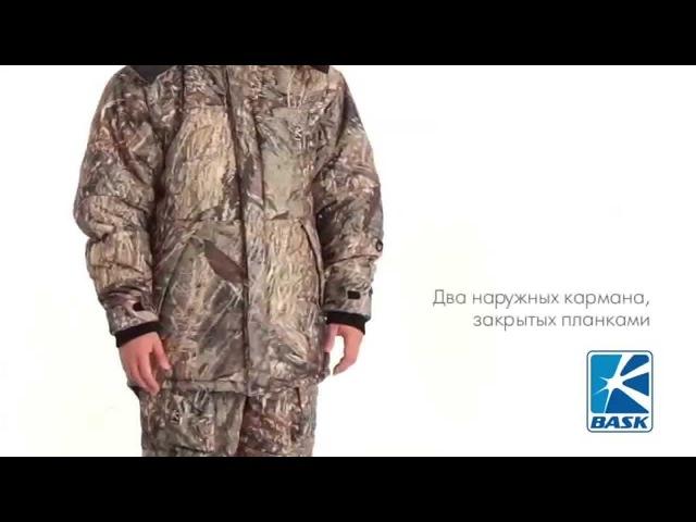 Камуфляжный костюм для охоты BASK MAKALU Suit TH V3
