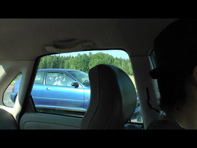 Volvo S40 T4 Autotech 420hp vs Insane Honda Civic Turbo