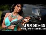 Ash shooting a Romanian AIMS MD65