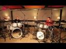 Gretsch Drums Duo Nicolas Viccaro Gergo Borlai by