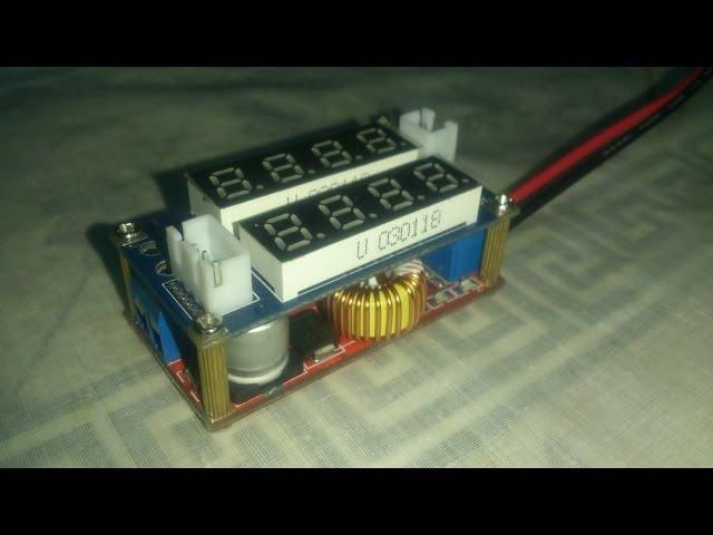 Импульсный стабилизатор 0,8-29В 5А на халяву
