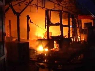 На «Новому ринку» ліквідували пожежу