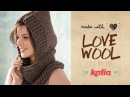 Love Wool DIY: Cuello capucha · Neck warmer hood