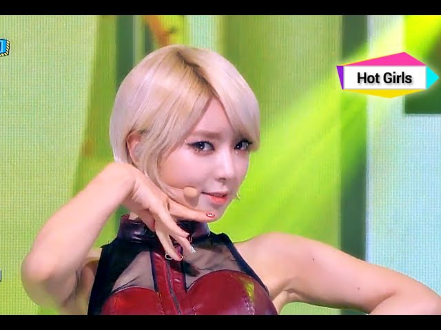 AOA Like a Cat 에이오에이 사뿐사뿐 Show Champion 20141119