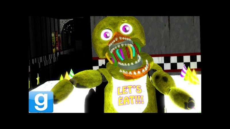 DANCING OLD CHICA!! - Gmod Five Nights At Freddy's Withered Chica (Garry's Mod)