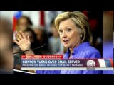 Hillary Clinton turns personal email server over to FBI