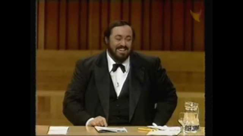 Luciano Pavarotti recounts some 'Embarassing Moments On Stage'