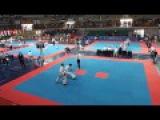 Konstantin Yurikov (Rus) v Carl Davis (Eng) Male -71Kg Sparring Semi-Final