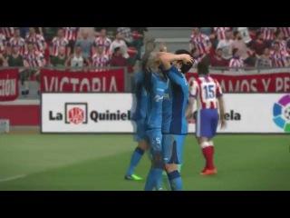 PES 15 Карьера #4 Атлетико Мадрид -  Хетафе