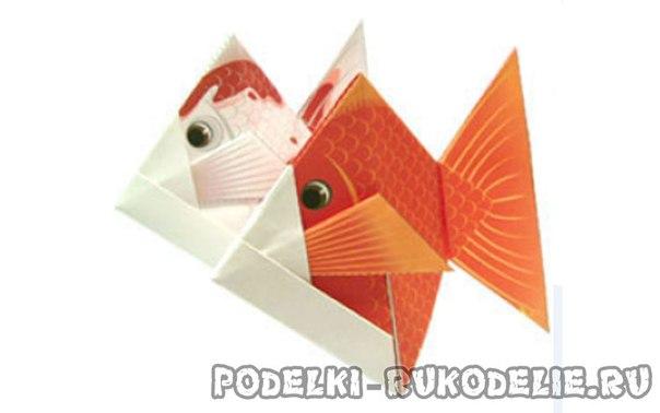 оригами из бумаги пошаговая инструкция