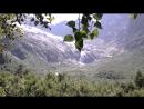 Возле Русской поляны Хороший маршрут на полдня короткий и легкий Тропа идет по ущелью Домбай Ульген вдоль одноименной реки