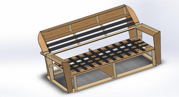Сборка мягкой мебели чертежи