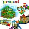 ИГРОБУМ - Детские лабиринты, игровые площадки