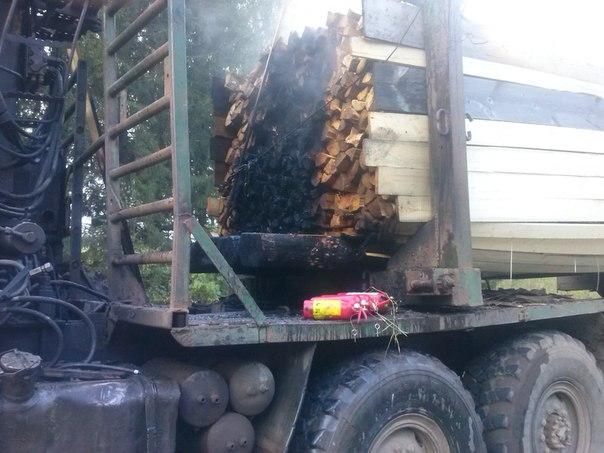 Пожар в авто фото