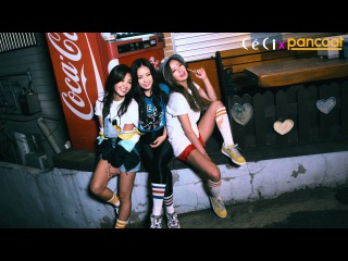[BTS] A PINK - PANCOAT X CECI MAGAZINE: GIRLS' NIGHT OUT [150421]