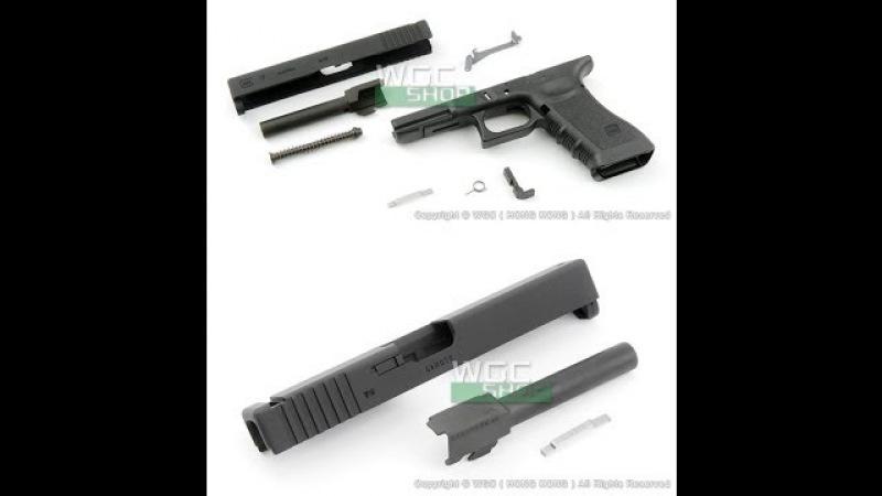 Установка Guarder Enhaced Full Kit на страйкбольный пистоле Glcok 17