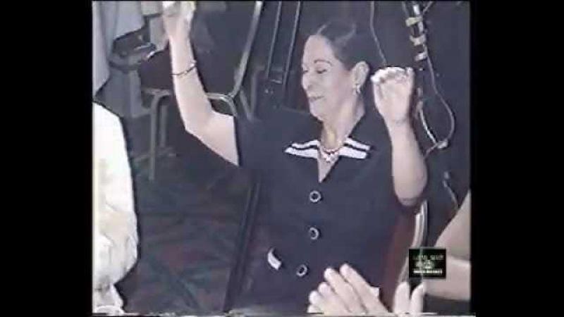 Suheir Zaki dancing at Ahlan wa Sahlan