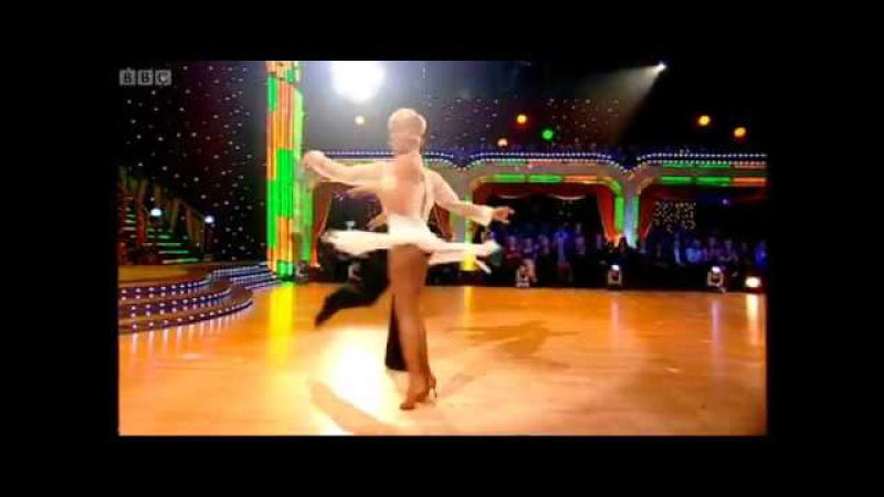 Michael Malitowski and Joanna Leunis BBC Strictly Come Dancing