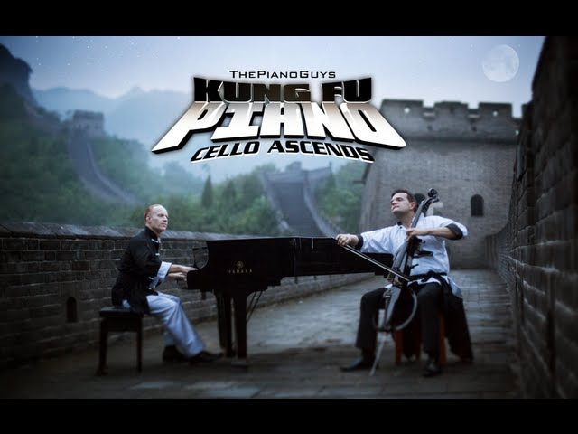 The Piano Guys - Cello Ascends (Wonder of The World 1 of 7)