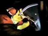 (съемка с телефона) Нападение стаи волков на пост ДПС (трасса М23)