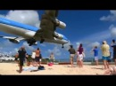 St Maarten Take Off Landings Compilation 2012