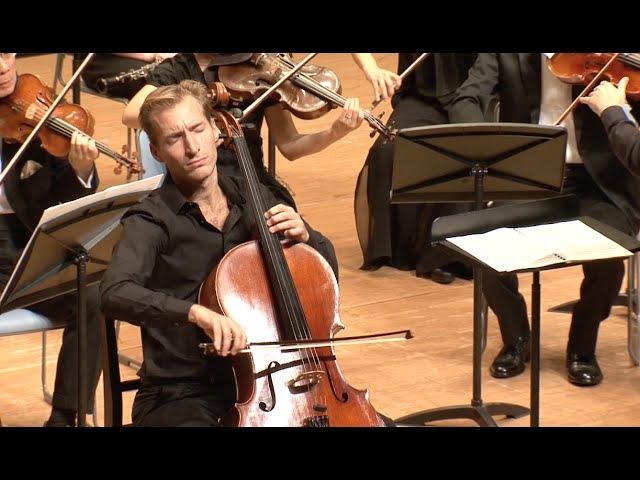 Haydn Cello Concerto No.1 by Stephan Koncz (2014 Live)