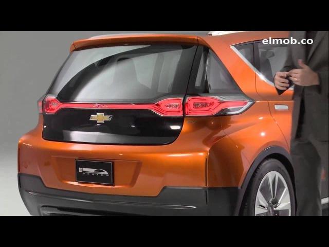 Первый Обзор Дизайна Электромобиль Chevrolet Bolt EV на Русском