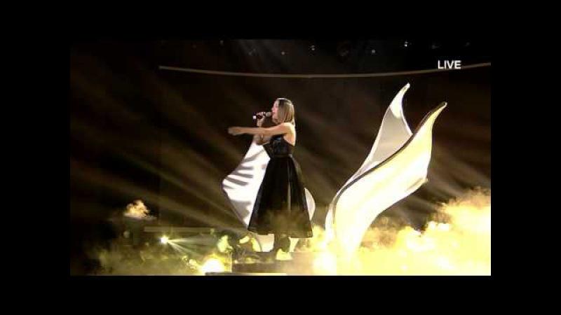 Elhaida Dani - I'm alive - X Factor Albania 4 (Netet LIVE)