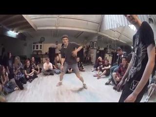 Human Vs. Bender | RedLine Dance Battle