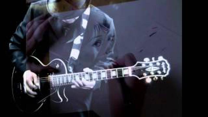 Whitney Houston - I will always love you on guitars.