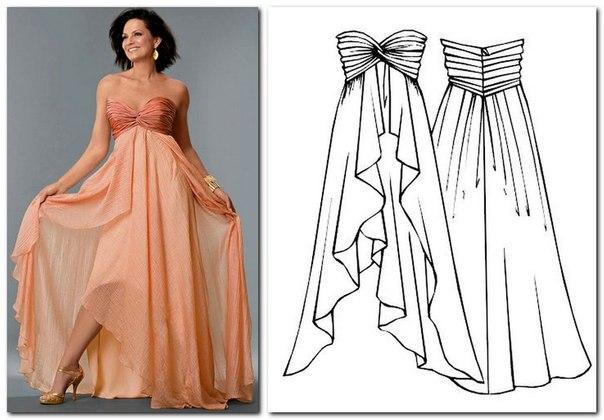 Бурда платья корсеты