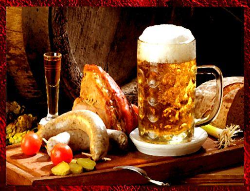 Пивной праздник в германии