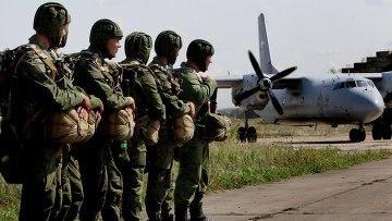 Десантники из Тулы завершат учения десантированием в Рязанской области