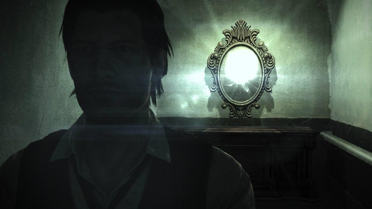 Именно через эти зеркала осуществляется проход в комнату сохранений.