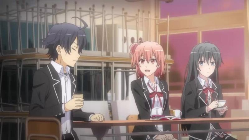 OreGairu TV-2 (1 из 12)Моя школьная жизнь - сплошной обман ТВ-2 [Cariel99]